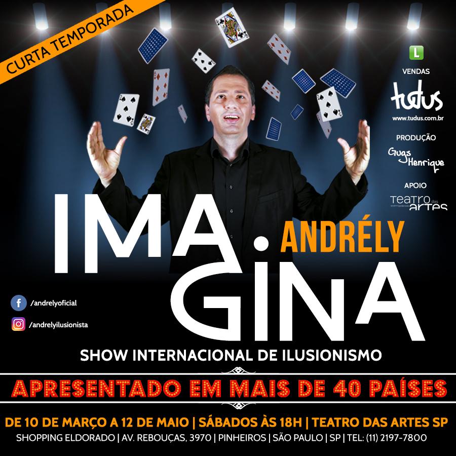 IMAGINA – SHOW INTERNACIONAL DE ILUSIONISMO
