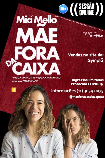 MÃE FORA DA CAIXA – ONLINE